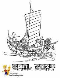 superb sailing boat coloring pages boats free ship coloring