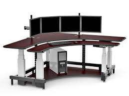 Computer Desks With Keyboard Tray L Shapecorner Desks With Two Keyboard Trays Anandtech Forums With