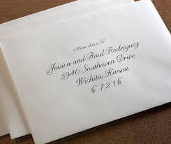 wedding invitation envelopes i really this looking computer calligraphy font