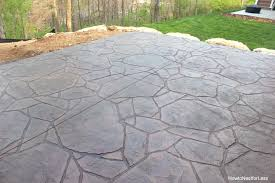 How To Lay Patio Stones by How Much To Concrete A Patio Uk Concrete Sand How To Stain