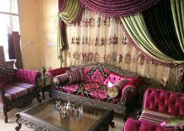 canapé arabe tissu marocain du maroc pas cher deco tissu
