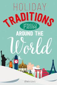 make your holidays bright with new global traditions