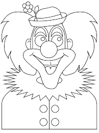 clown2 circus coloring pages u0026 coloring book