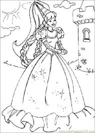 show la casa barbie colouring pages coloring
