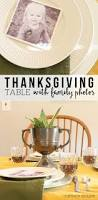simple thanksgiving table setting with family photos u2013 craftivity