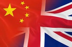 Uk Flag Ai Events China Britain Business Fusion
