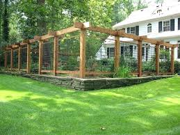 Backyard Fence Decorating Ideas Pinterest Gardens Backyard Fence Decorating
