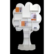 Childrens Bookcase White by Kids Small Tree Bookcase In White Childrens Furniture Cuckooland