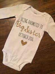 thanksgiving onesie big sister announcement onesie pregnancy announcement onesie