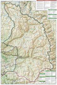 National Map Sequoia And Kings Canyon National Parks National Geographic