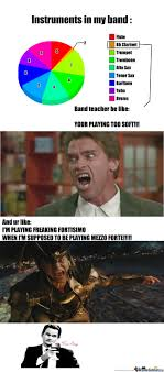 Clarinet Player Meme - mezzo forte is fortisimo by sabrina hillgert meme center