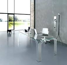 Use of the glass desk for better looks and delivery  Elites Home Decor