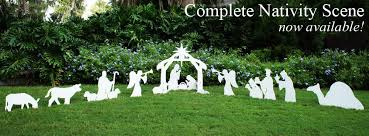 Nativity Sets Outdoor Plastic Lighted Outdoor Nativity Scene