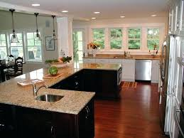 island kitchen layouts l shaped kitchen designs with island glamorous white and top granite