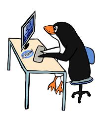 clipart penguin admin