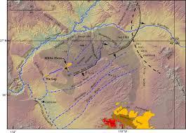 Map Of Mesa Az Reevaluation Of The Crooked Ridge River U2014early Pleistocene Ca 2