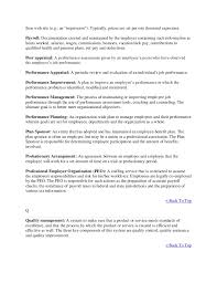 Tips On Making A Resume Glossary Human Resource Management