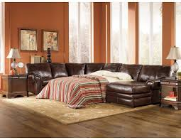 Pull Out Sectional Sofa Lovable Leather Sleeper Sectional Sofa Ashley Leather Sectional