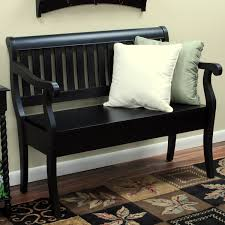 bench black hallway bench entryway bench and coat rack entry diy