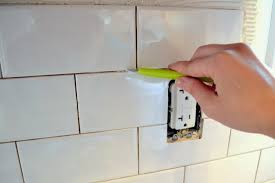 how to add a tile backsplash in the kitchen u2013 the ugly duckling house
