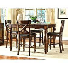 storage dining table set 7 piece counter height dining room sets 7