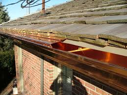 decor u0026 tips shingle roof and copper gutters with rain gutter