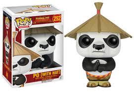 funko pop movies kung fu panda po with hat vinyl figure