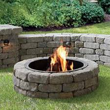 Patio And Firepit Awesome Lowes Pit Kit Price Outdoor Lowes Portable Pit