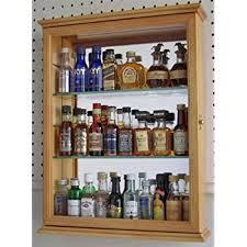 Curio Cabinets Shelves Amazon Com Collectible Display Case Wall Shelves Wall Curio