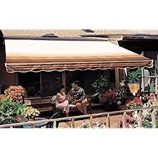 Mechanical Awnings Amazon Com Sunsetter Awnings Patio Awnings Garden U0026 Outdoor