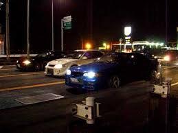 japanese street race cars street racing in japan bcnr33 gt r vs bnr32 gt r vs evo youtube