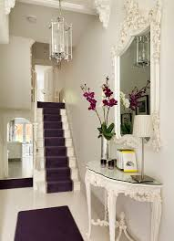 entry table and mirror staircase victorian with victorian terraced