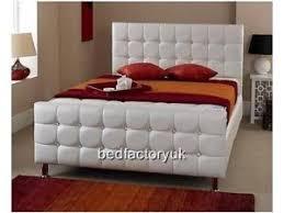 Milan Bed Frame Pink Diamante Cube Milan Bed Frame Single Kingsize