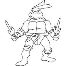teenage mutant ninja turtles kids coloring pages free