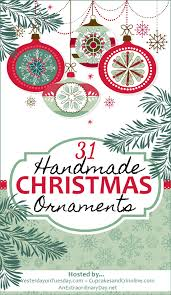 how to make cute farmhouse christmas ornaments lovely etc