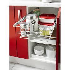 meuble cuisine tiroir coulissant panier coulissant pour meuble l 60 cm leroy merlin
