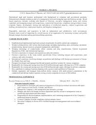 resume u0026 additional experience as business u0026 legal professional