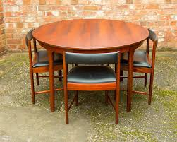 rosewood retro dining table u0026 4 chairs by mcintosh vintage 1960 u0027s