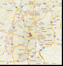 map of metro atlanta atlanta estate attractions information