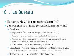 ection bureau association le fonctionnement de l association ppt télécharger
