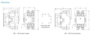 hcdp series definite purpose contactor 1 pole hcdpy124040