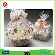 cellophane gift wrap christmas snowflakes wrap cellophane basket gift wrap large