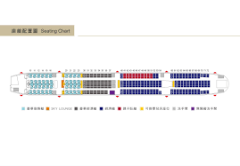Air India Seat Map by Boeing 777 300er China Airlines