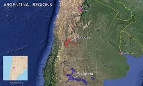 Map Argentina Map Argentina Wine Region U2014 Tenzing