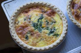 cuisine quiche lorraine easy quiche lorraine with caramelized onions and swiss chard erin