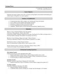 Digital Resume Example by Resume Template Examples Summer Job Teacher In 79 Remarkable Of