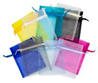 large organza bags free shipping on all organza drawstring pouches solid color