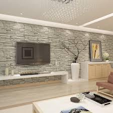 modele de papier peint pour chambre salon rustique et idee papier vinyle objet meuble deco
