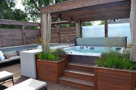 Patio Designs With Pergola by Best 25 Tubs Landscaping Ideas On Pinterest Tubs