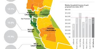 State Of Jefferson Map This Map Shows Why The Plan To Split Up California Would Be A